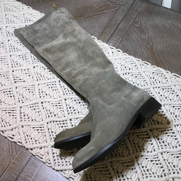 c826765cbff Diba True suede over the knee boots size 7 NWT